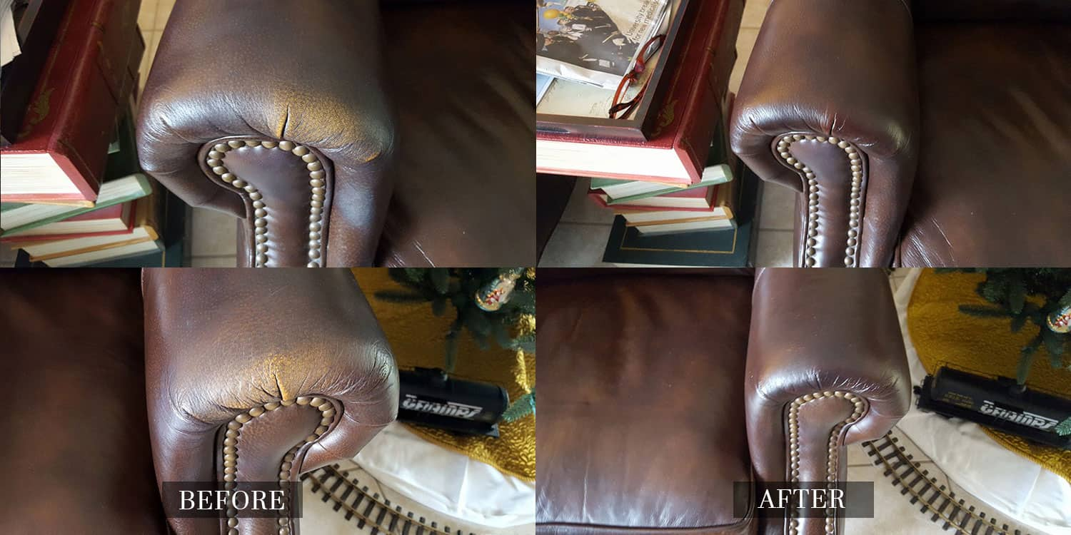 Discolored Armchair