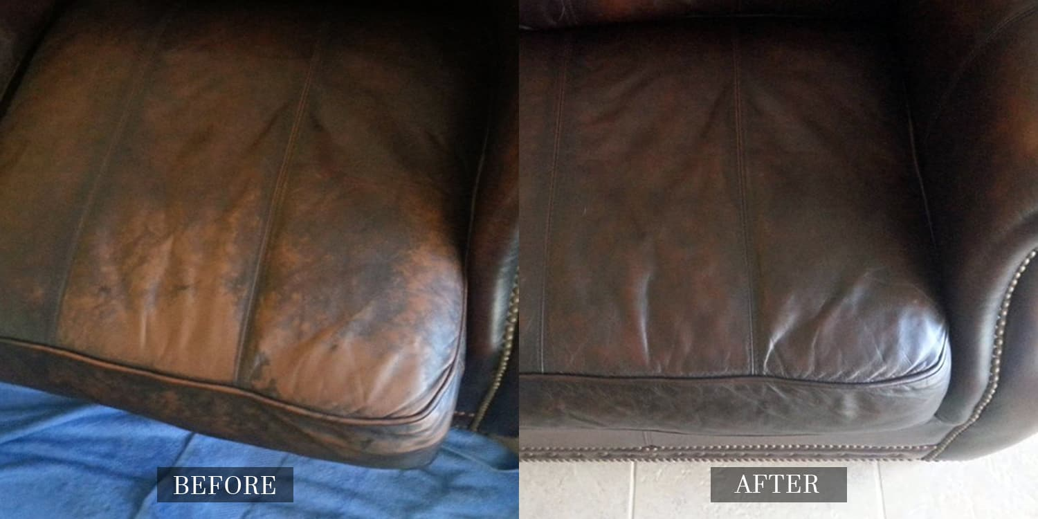 Before And After Gallery Leather Medic
