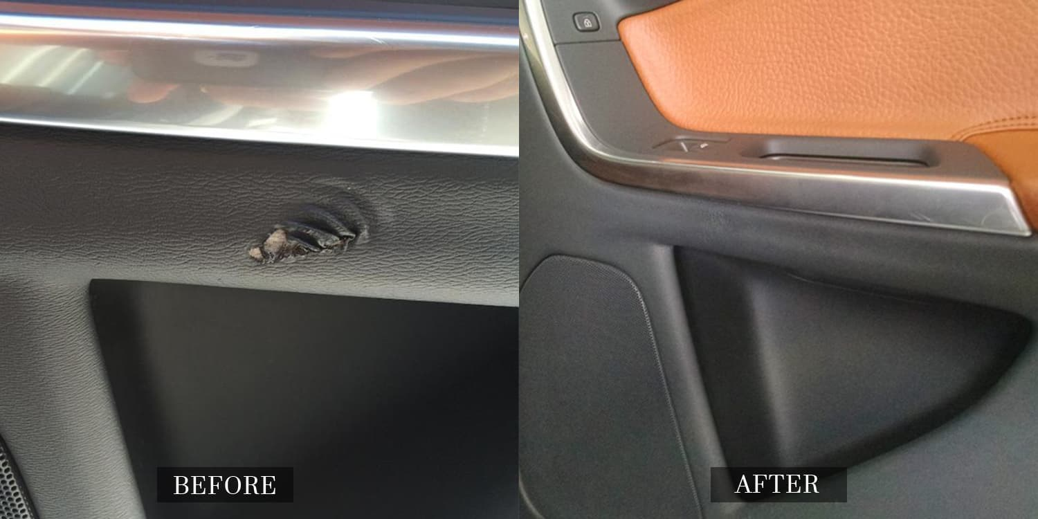 Fix Leather and Vinyl Damage in Cars