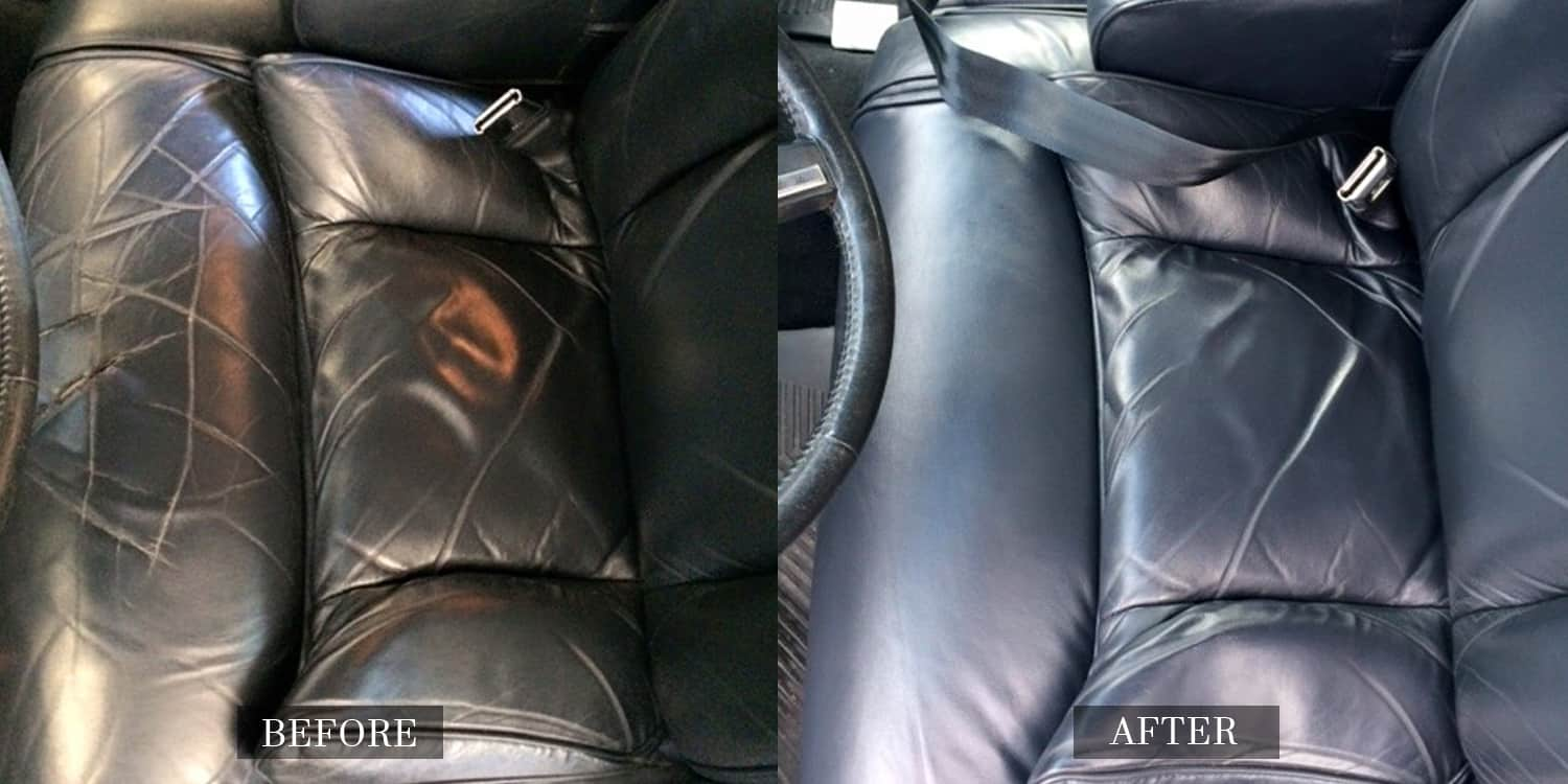 Leather Interiors Restored
