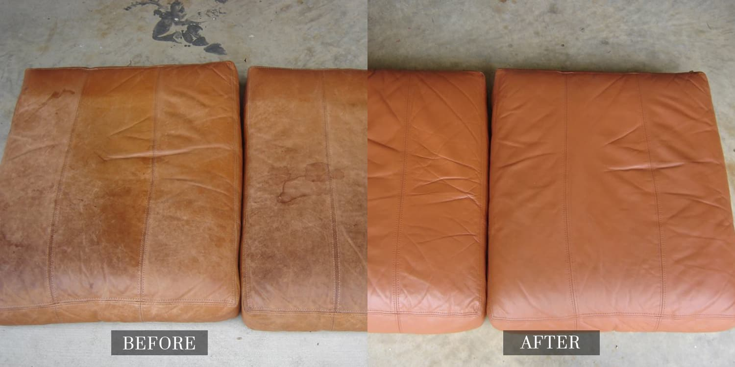 Leather Seat Restored