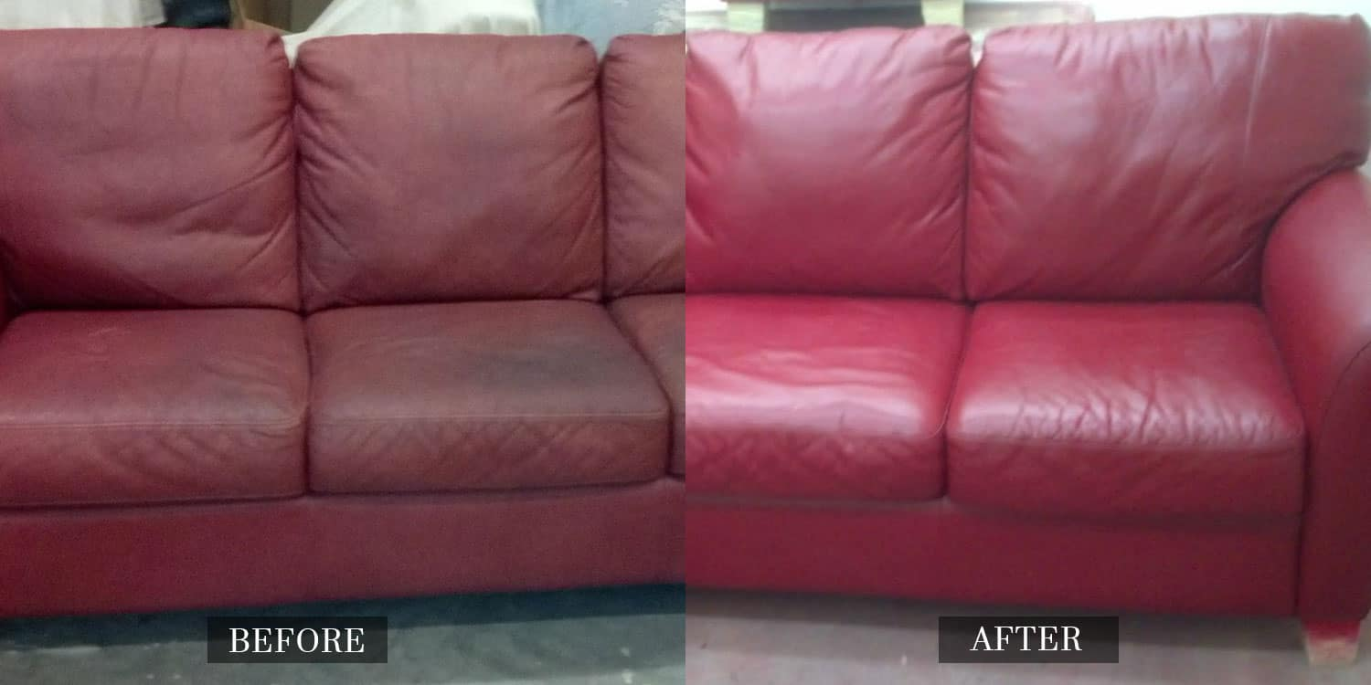 Leather Sofa Re-dye