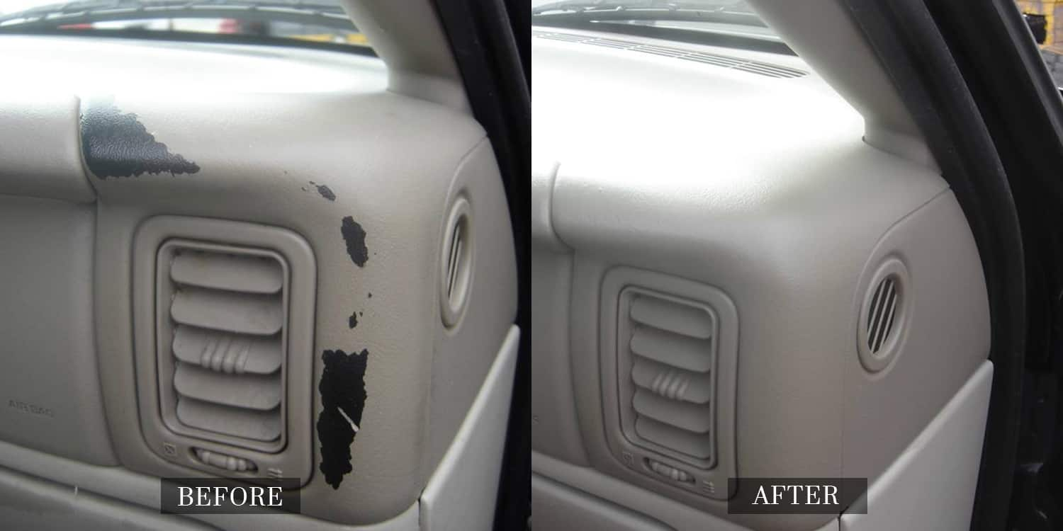 Leather and Vinyl Finishes In Cars Repaired
