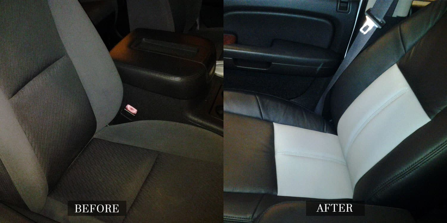 Replace An Upholstered Car Interior With Leather